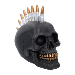 Crane décoratif noir à crète balles de fusil - Nemesis Now