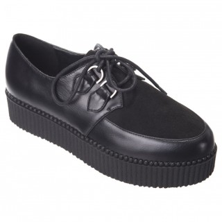 Creepers noires modèle Leona - Banned