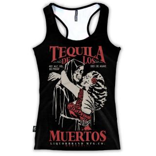 Débardeur femme TEQUILA DE LOS MUERTO - Liquor Brand