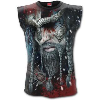 Débardeur homme à guerrier viking allant au Valhalla
