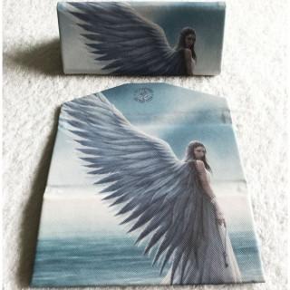 """Etui à lunettes pliable à ange """"Spirit guide"""" - Anne Stokes"""