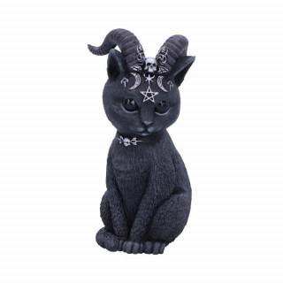 Figurine chat démoniaque à cornes Pawzuph