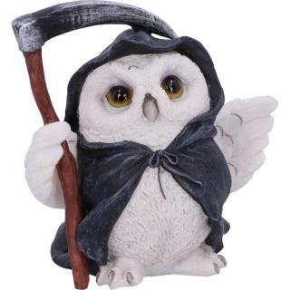 """Figurine chouette de la Mort tenant une faux """"Reapers Flight"""" (12,5cm)"""