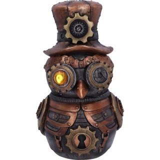 Figurine chouette steampunk - Nemesis Now (22.7cm)