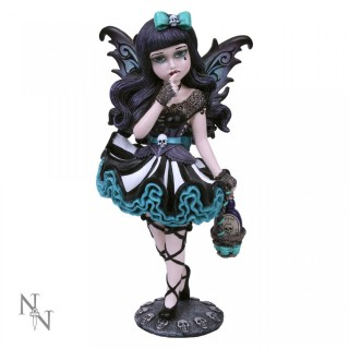 "Figurine fée gothique Little Shadows ""Adeline"" - 16.5cm"