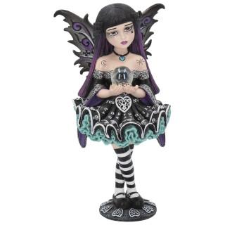 """Figurine fée gothique Little Shadows """"Mystique"""" - 16.5cm"""
