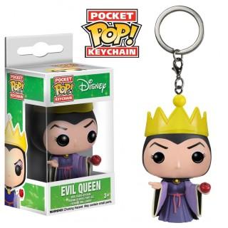 Figurine Pocket Pop Reine sorcière en porte-clé - Blanche Neige Disney