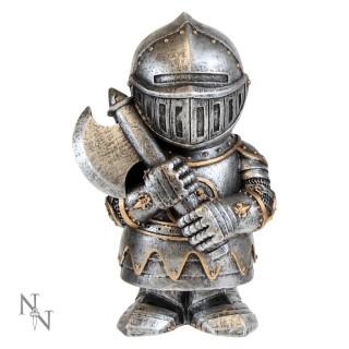 Figurine soldat médiéval en armure avec hache Sir Chopalot 11cm