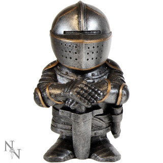 Figurine soldat médiéval en armure Sir Fightalot 11cm