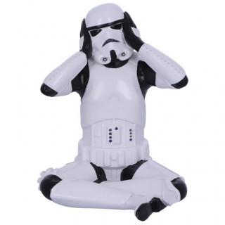 "Figurine Stormtrooper - Starwars ""Hear No Evil"" (licence officielle)"