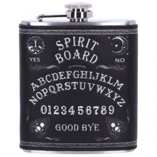 "Flasque inox style planche ouija ""Spirit board"" - Nemesis Now"