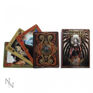 "Jeu de cartes ""Steampunk"" - Anne Stokes - Bicycle (52 cartes)"
