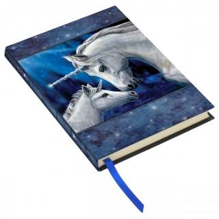 "Journal /carnet intime à licornes ""Sacred Love"" - Lisa Parker, (13 x 17,5 cm)"