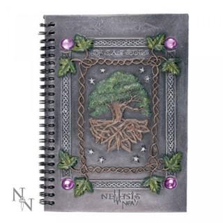 """Journal intime couverture résine à arbre de vie """"Dream Book"""" (21,5cm x 14 cm)"""