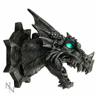 "Lampe murale Dragon noir ""Ferox"" (20,5cm) - Nemesis Now"