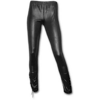 achat legging femme style rock aspect cuir pas cher. Black Bedroom Furniture Sets. Home Design Ideas