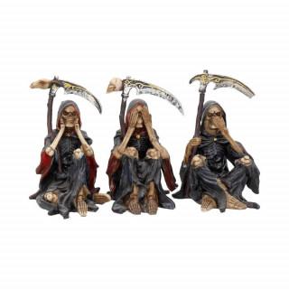 Lot de 3 figurines faucheuses (9,5cm) - Nemesis Now