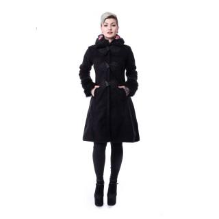 manteau femme hiver rock