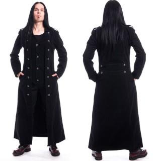 Manteau homme gothique noir WALKER - Vixxin