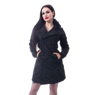 """Manteau noir femme """"CRAFT COAT"""" - Poizen Industries"""