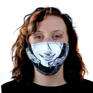 Masque ajustable Médusa - Heartless