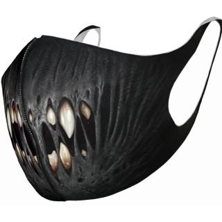 Masque bouche et nez à dentition en trompe-l'oeil (Import UK - Non normé AFNOR)