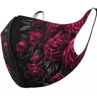 Masque bouche et nez à roses ensanglantées (Import UK - Non normé AFNOR)