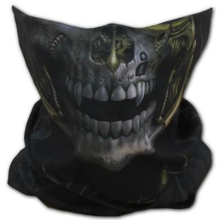 Masque facial multi-fonctions à visage crane steampunk