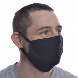 "Masque noir mixte ""RUMI FACE COVER"" - Poizen Industries (Import UK - Non normé AFNOR)"