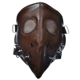 Masque Poizen Industries Hannibal Face Mask Brown