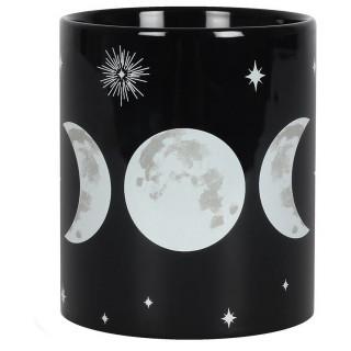 Mug noir triple lune