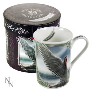 """Mug Tasse fantaisie Anne Stokes avec ange """"Spirit Guide"""""""