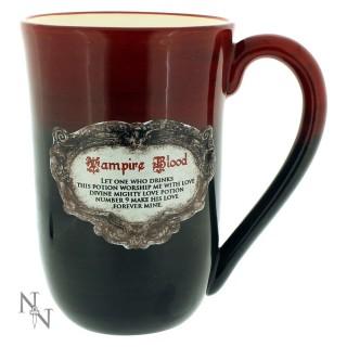 Mug Tasse gothique noir et bordeau Vampire Blood