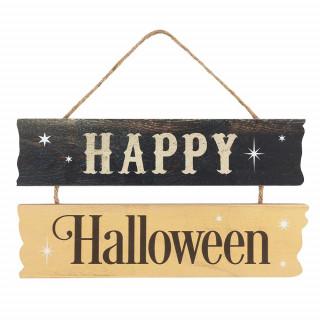 Panneau décoration à suspendre Happy Halloween