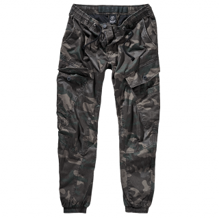 "Pantalon homme camouflage ""Ray Vintage Trousers"" - Darkcamo - Brandit"