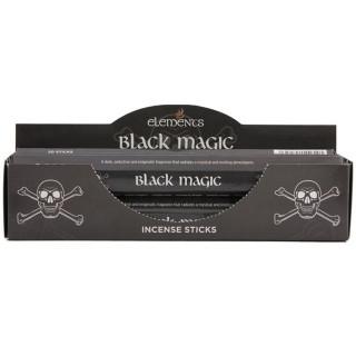 Paquet de 20 bâtonnets d'encens Magie noire - Elements