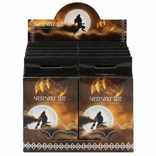 Paquet de 15 cônes d'encens senteur Werewolf Bite (Morsure de loup garou)