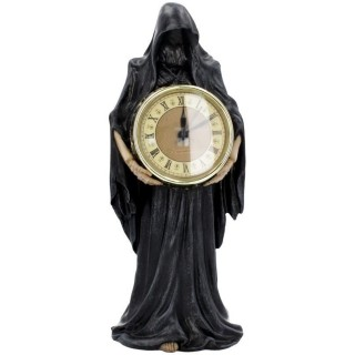 """Pendule gothique à Faucheuse """"L'heure Finale"""" - Nemesis Now"""