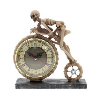 """Pendule gothique à Faucheuse """"La roue du temps"""" - Nemesis Now"""