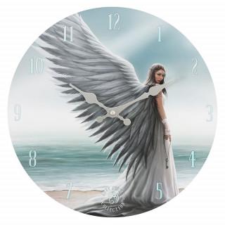 "Pendule murale à ange ""Spirit guide"" - Anne Stokes"