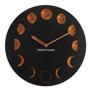 Pendule murale à phases de lunes