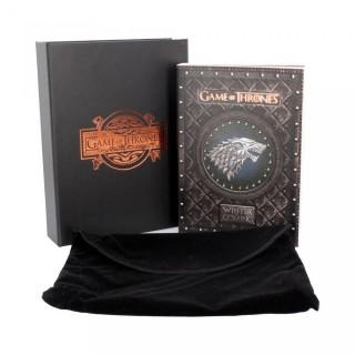 Petit journal Stark Game of Thrones - Winter is Coming + boite et pochette