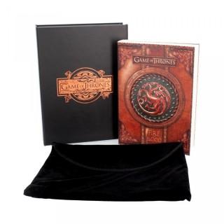 Petit journal Targaryen Game of Thrones - Fire and Blood + boite et pochette