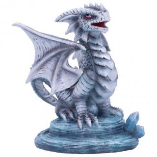 """Petite Figurine dragon de Glace """"Small Rock"""" - Anne Stokes"""