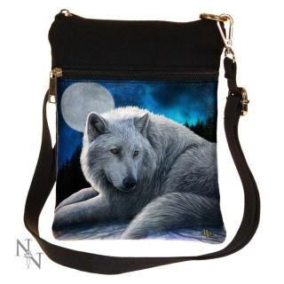 Petite sacoche bandoulière à loup allongé - Lisa Parker