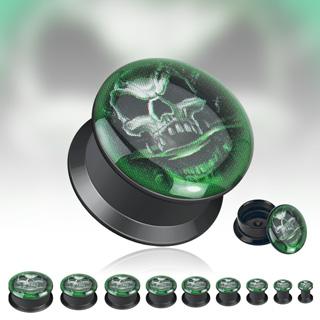 Piercing gothique plug Démon fantome