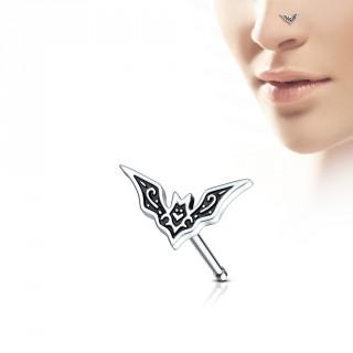 Piercing nez à chauve-souris