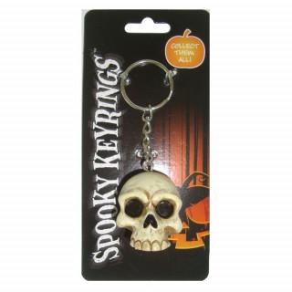Porte clé Spooky crane skull