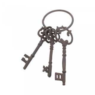 Porte-clés style trousseau de chateau (14.5cm)