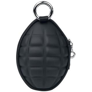 Porte-monnaie grenade avec compartiment porte-clés